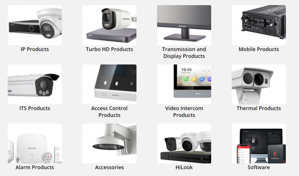 Hikvision Products In Singapore